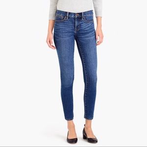 J. Crew Factory Toothpick Ankle Stretch Jean 29